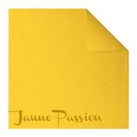 Serviettes en papier Fiesta, 40 x 40cm, jaune passion