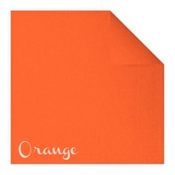 Serviettes en papier Fiesta, 40 x 40cm, orange