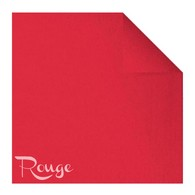 Serviettes en papier Fiesta, 40 x 40cm, rouge