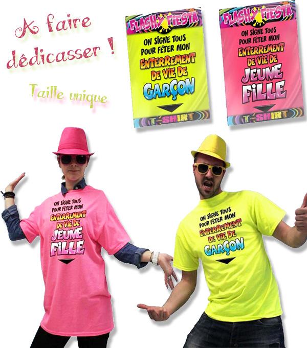 T-shirt Enterrement de vie de célibataire