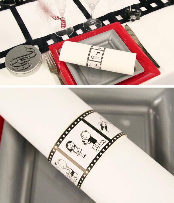 Rond de serviettes cinéma