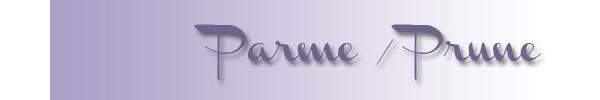Nos chemins de table... couleur prune/parme/violet