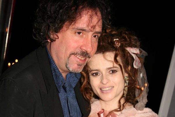 Helena Bonham Carter et Tim Burton