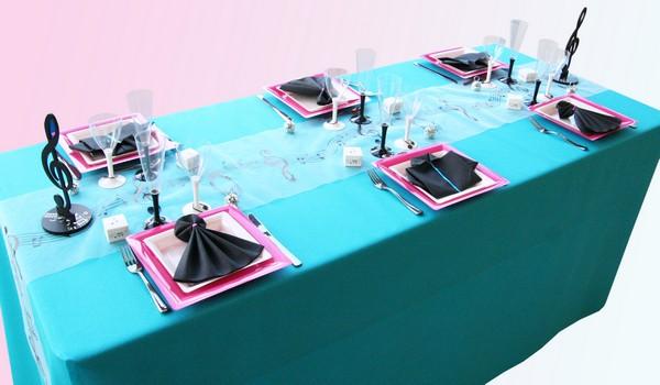 Une décoration de table musicale pour votre mariage !