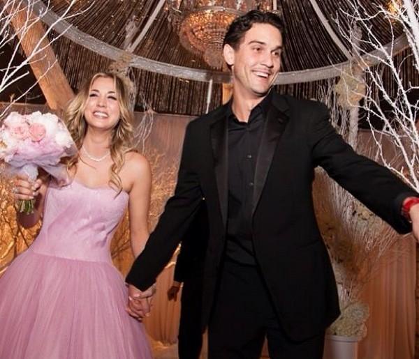Kaley Cuoco (The Big Bang Theory) s'est mariée !