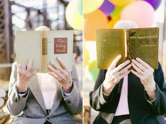 Des photos de mariage... 61 ans après !