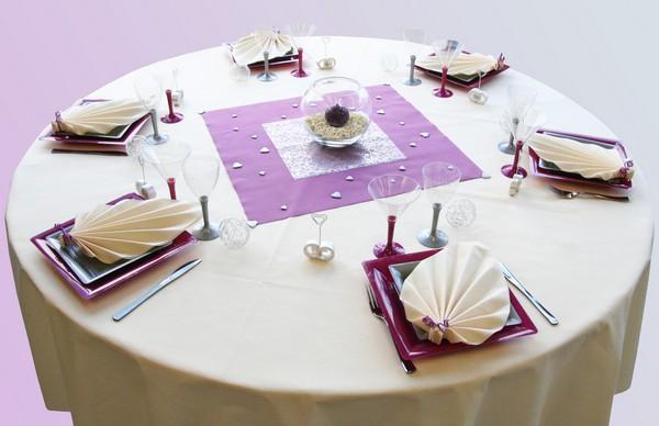 Une nouvelle décoration de table, douce et élégante