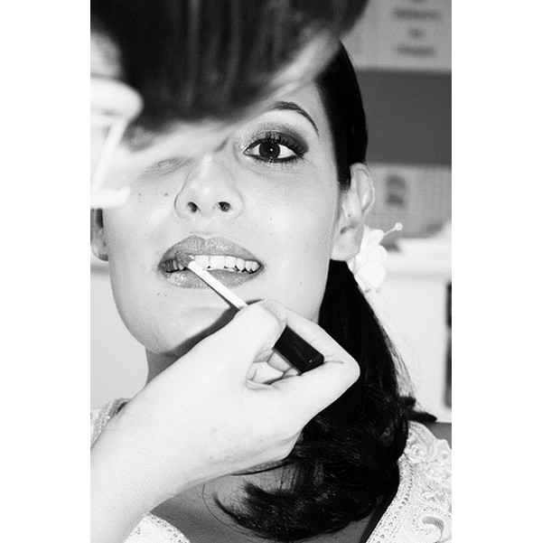 Gros plan sur le maquillage de mariage !