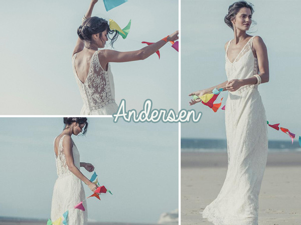 Robes de mariée : la collection 2014 de Laure de Sagazan