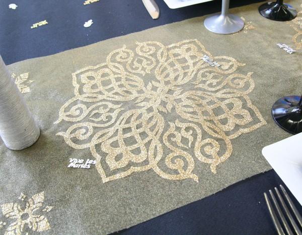 Une décoration de table orientale pour votre mariage !