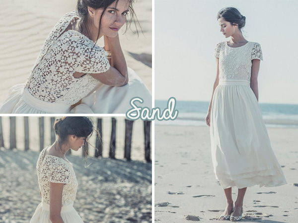 Robes de mariée : la collection 2014 de Laure de Sagazan