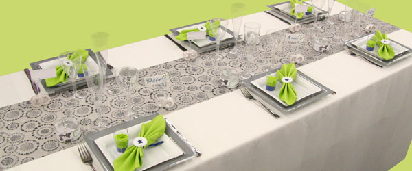 Décoration de table de mariage