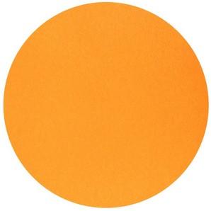 Nappe ronde Surlys mandarine, 240cm
