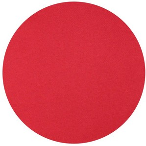 Nappe ronde Surlys rouge, 240cm