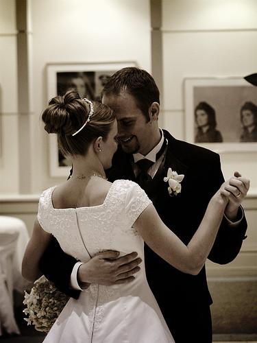 Ouverture de bal à l'occasion d'un mariage