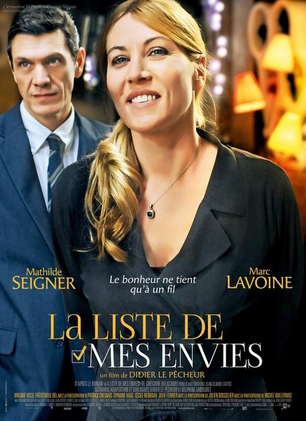Cinéma : La liste de mes envies, avec Mathilde Seigner