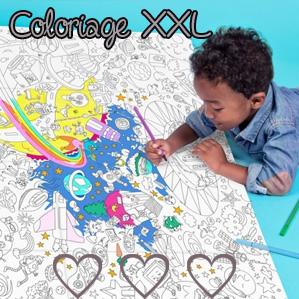 Un dessin XXL pour occuper les enfants !