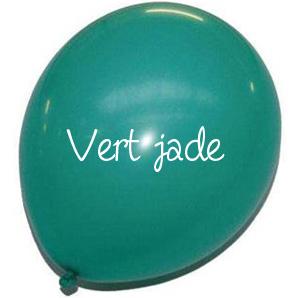 Ballons déco effet mat