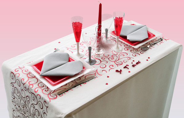 une table sp cial anniversaire de mariage d coration f te mariage. Black Bedroom Furniture Sets. Home Design Ideas
