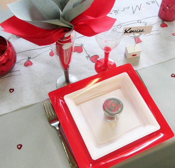 Decoration De Table Rouge Et Or