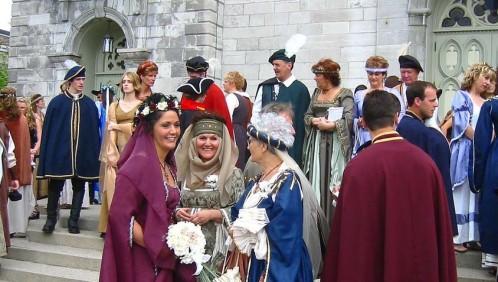 Mariage médiéval : déguisez vous !