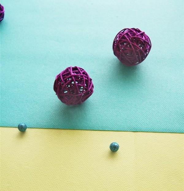 Comment utiliser nos boules en rotin ?