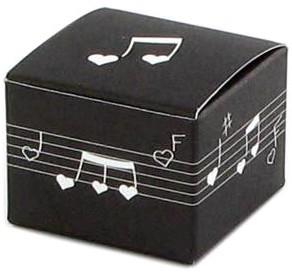 Boîte à musique candy noire
