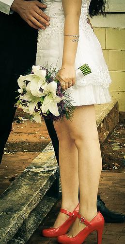 Mariage rouge passion : les accessoires
