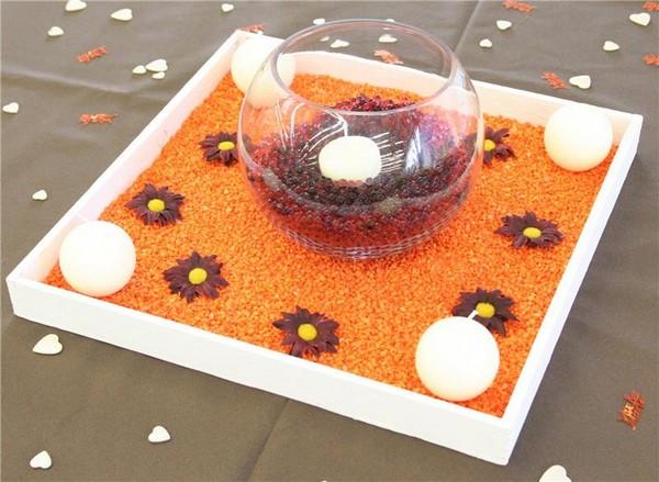 Décorez vos tables grâce aux perles d'eau