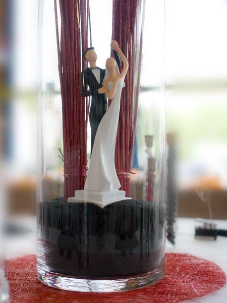 Centre de table de mariage