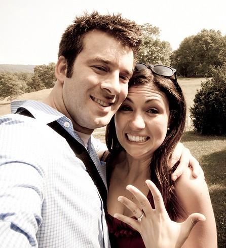 Les fiançailles et l'annonce