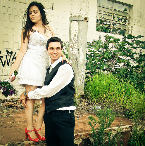 Tendance : Trash the Dress !