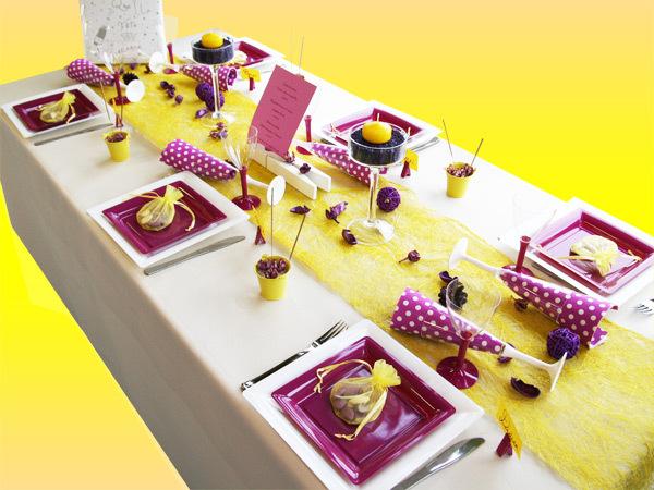 Idée de thème pour votre mariage : la fête foraine (décoration de table)
