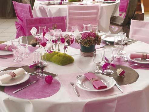 De l 39 inspiration pour vos d corations de mariage - Decoration de table mariage ...