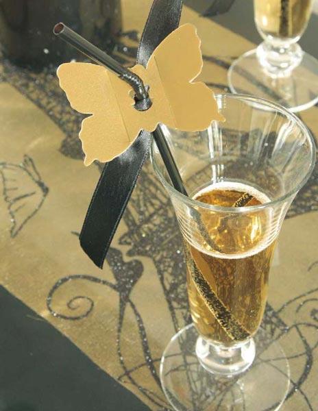 Décoration pour le vin d'honneur d'un mariage