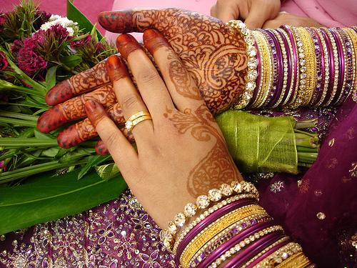 Mariage musulman  la cérémonie du hénné