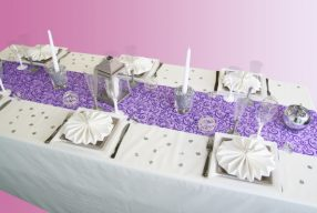 Une nouvelle décoration pour un mariage d'hiver !