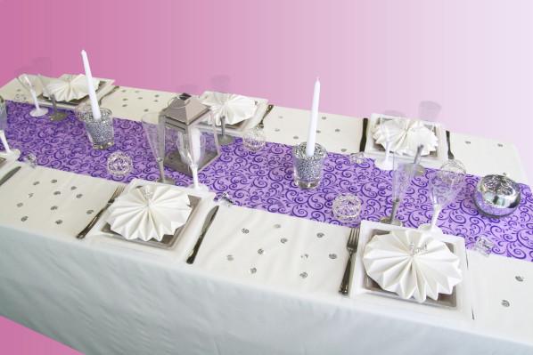 une nouvelle d coration pour un mariage d 39 hiver d coration f te mariage. Black Bedroom Furniture Sets. Home Design Ideas