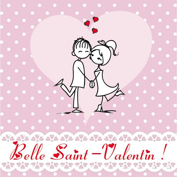 Aujourd'hui, c'est la Saint Valentin !
